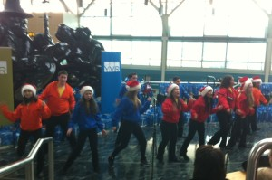 Showstoppers made sure everyone was in the Christmas spirit.