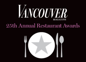 Media Relations, PR, Public Relations, Vancouver, spirits, lifestyles, food & beverage, magazines, editorial, Vancouver magazine, Restaurant Awards
