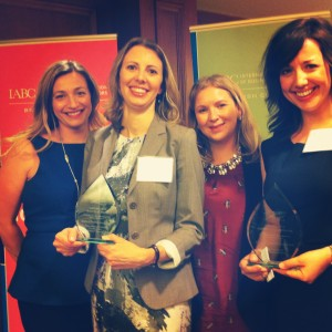 Simone Abt, Gwen Hardy, Lorna Allen, Cassandra Parsons, Elettra, PR, public relations, agency, media relations, vancouver, bc, firm, company, awards, excellence, Bronze Quill