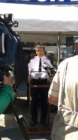 VPD, Vancouver Police Foundation, Kops' Shades for Kids, Public Relations, Press Conference