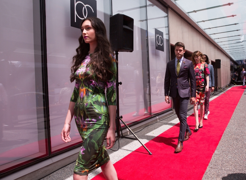 Pacific Centre fashion show event