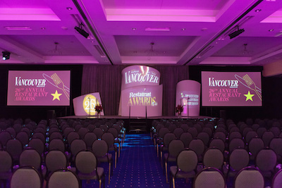 Awards show event planner