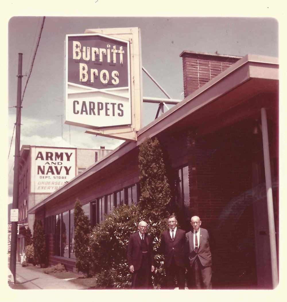 Burritt Bros.' Main Street shop, 1967 - 2016