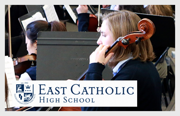 East Catholic High School                                        More>>>   Year Established: 1961  Location: Manchester, CT  Type of School:  Private HS. CO-ED   Grades: 9-12  Average Class Size: 20