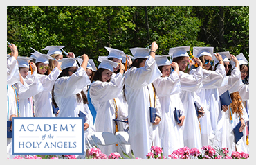 Academy of the Holy Angels                                     More>>>    Year Established: 1879  Location: Demarest, NJ  Type of School: All Girls, Private Day School  Grade: 9-12  Teacher to Student Ratio: 1:12