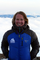 As Guide Manager, Melanie supports guide staff in the field, oversees guide scheduling & recruitment, permitting, and coordinates guide trainings. In addition she acts as a liaison between office and guide staff in order to provide the highest quality programs possible to our climbers. Melanie brings diverse professional experience working as a field Instructor and Course Director for Outward Bound, a guide for young adult cancer survivors on wilderness trips, a classroom teacher and an outdoor educator. Melanie has traveled extensively in the United States and abroad but is happy to call Seattle home. In her free time she explores the outdoors by foot, bike, skis, or boat as much as possible.