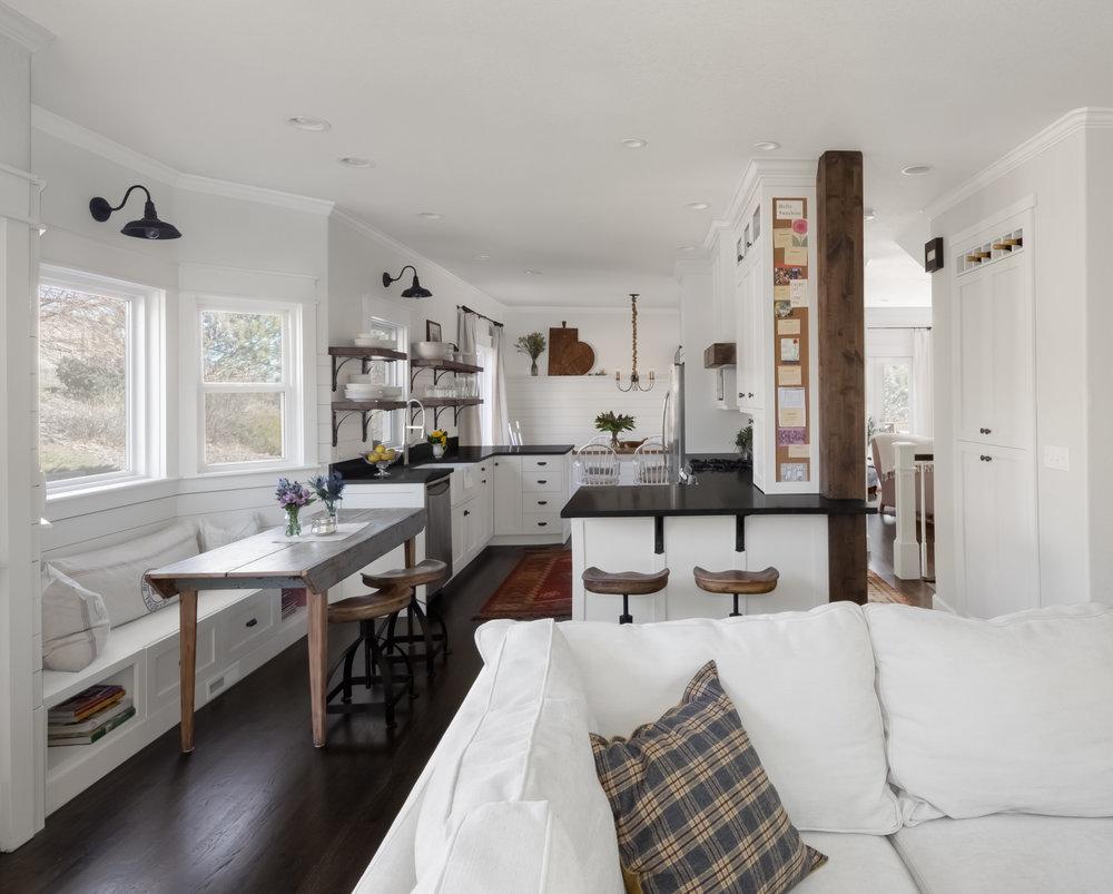 rustic style interior kitchen