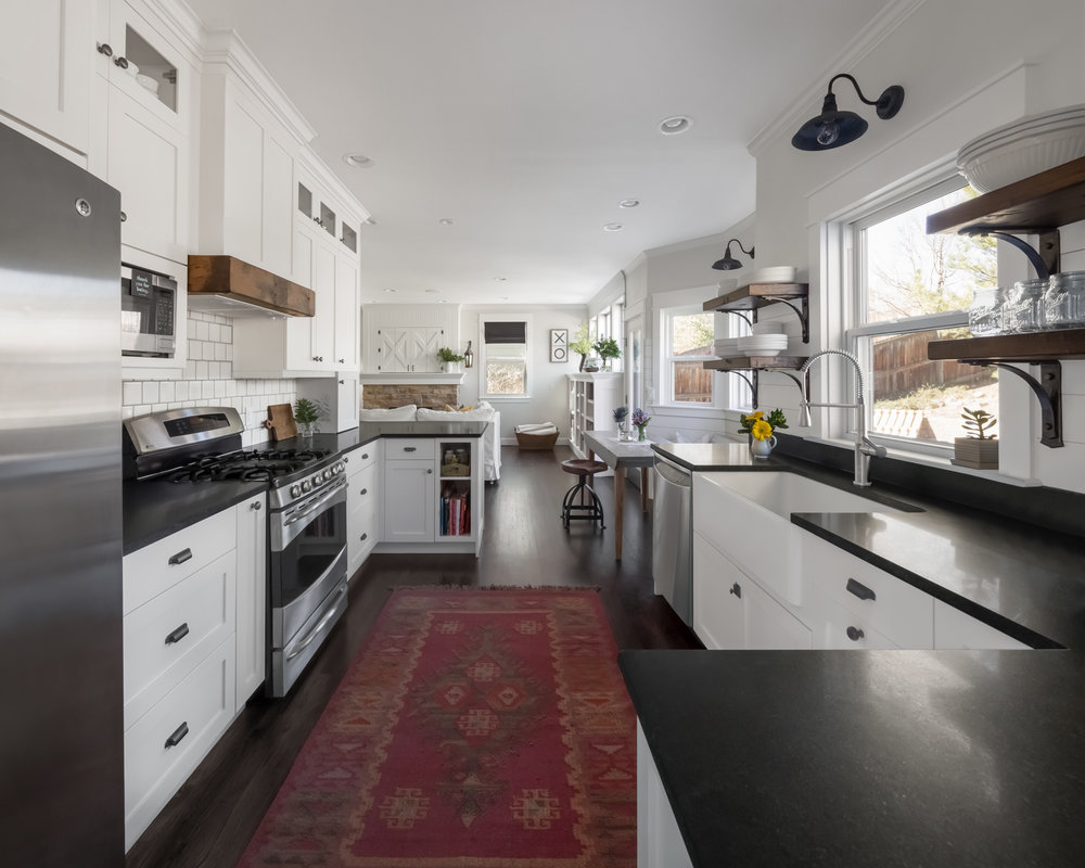 Bon We Took Out Two Walls At Each End Of This Kitchen, Removed A Dropped Soffit  That Ran The Perimeter Of The Kitchen, Added A Window Seat, And Transformed  An ...