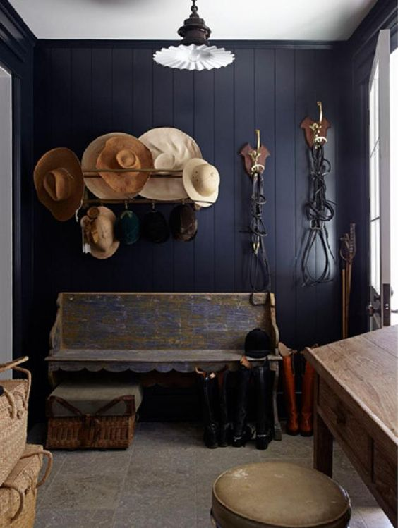 Not everything has to be built-in - a great vintage piece works just as well and has a little more charm! (Photo Source)