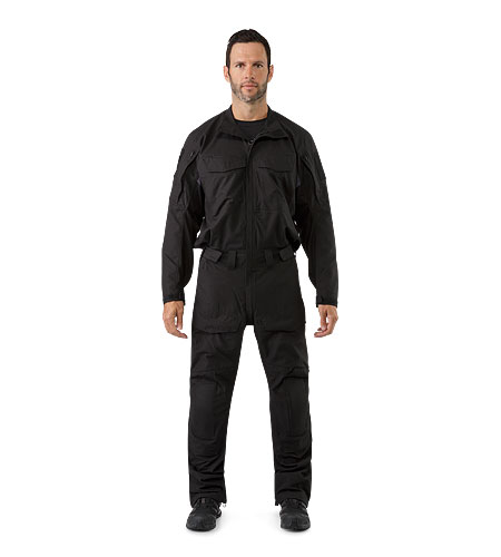Assault-Coverall-FR-Black-Front-View.jpg