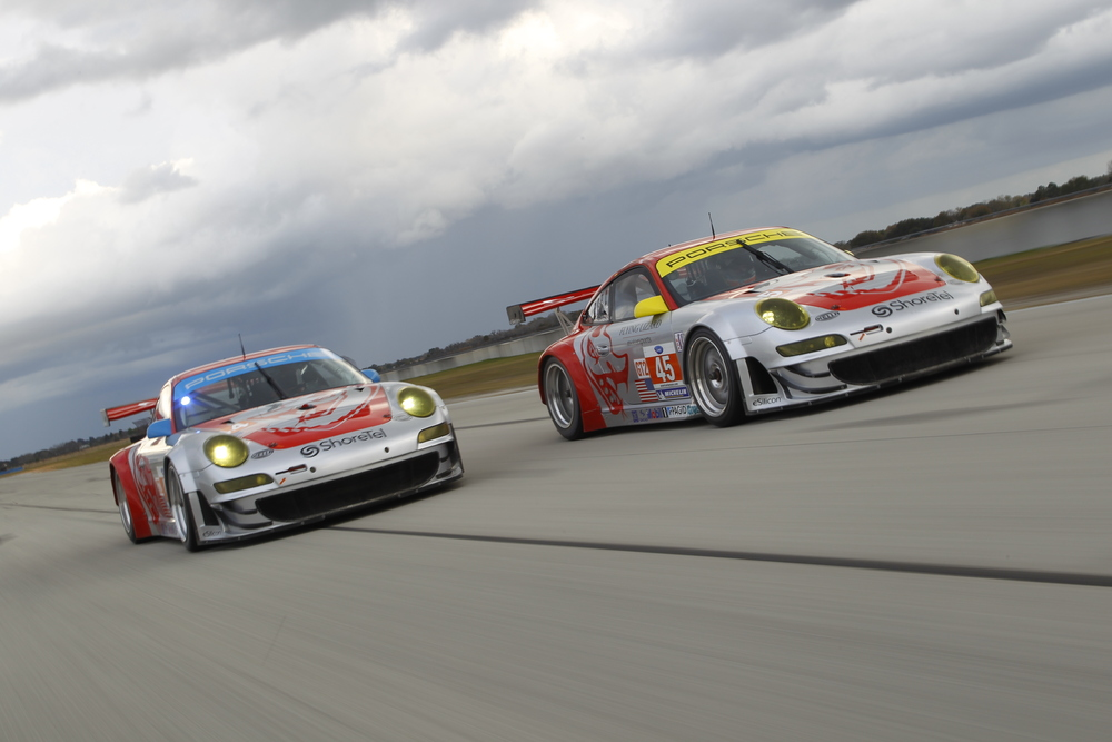 Flying Lizard 911 (997) GT3 RSR