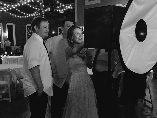 Beautiful night for a wedding in Lawrence, Kansas! . . #picwoodkc #LFK #lawrenceks #kansascity #kcmo #photobooth #portraits #classicphotobooth #portablephotobooth #wedding #kansascityphotobooth #bestphotobooth #boothlessphotobooth #vintagephotobooth #weddingphotobooth #party #takeportraits