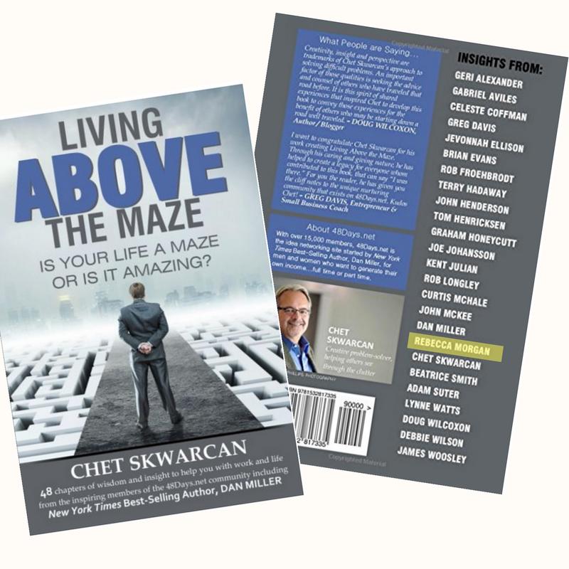 Contributor Living Above the Maze book