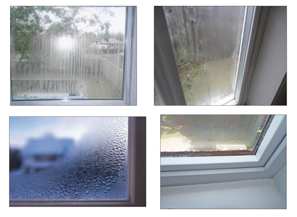 Look out for these signs - they all indicate the elements leaking through your windows!