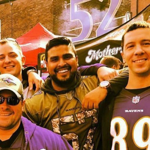 Neal is a huge Ravens fan!