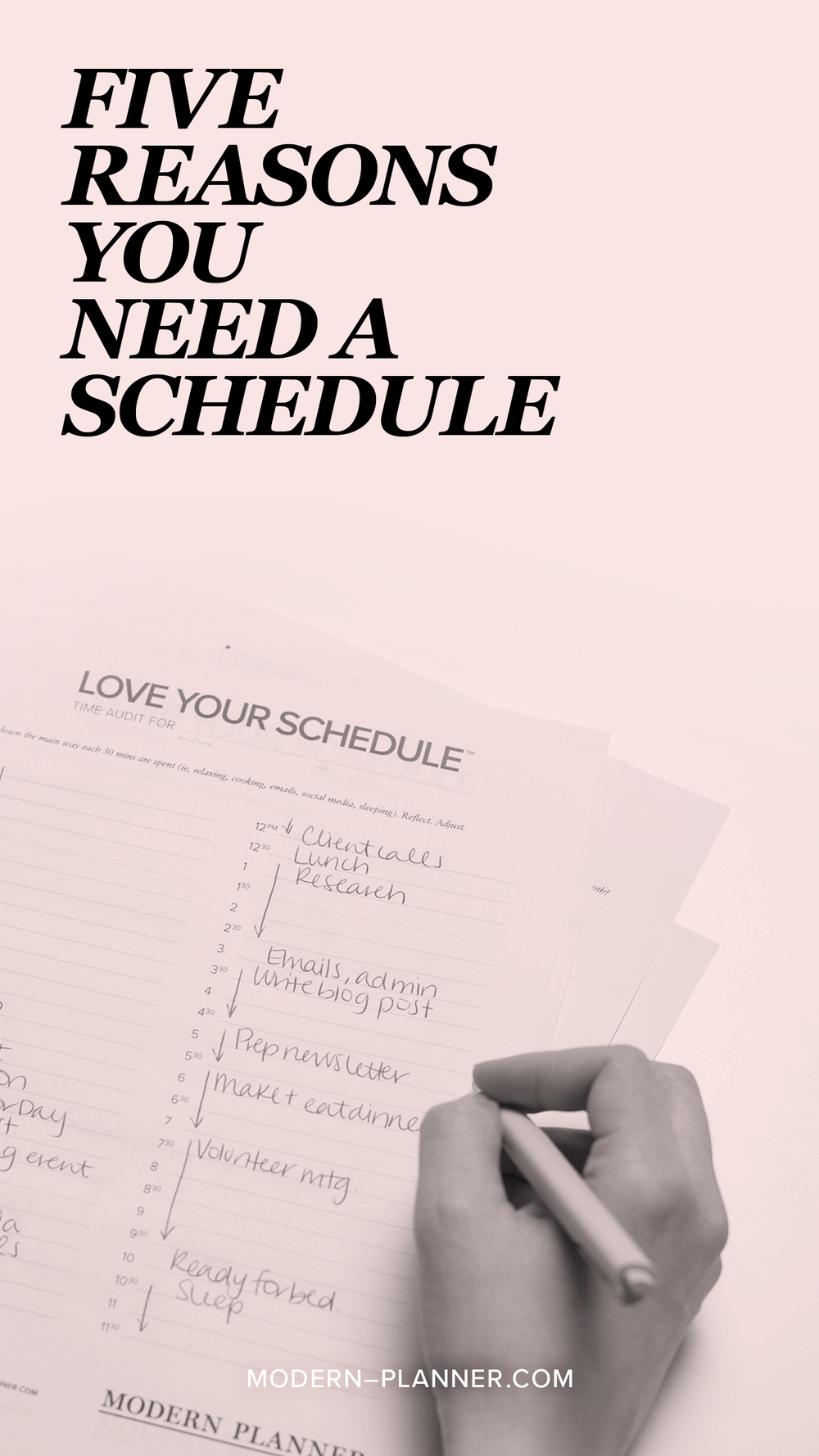 Do you struggle to manage your time? One of the best ways to deal with this is to create a schedule that works for you. Here are five reasons you need a schedule.