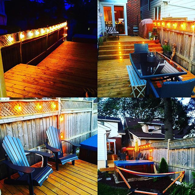 Tracy and I have been busy working on a deck off the studio. #relax #outdoors #windsor #studiolife