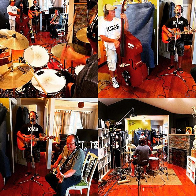 The Paying Cash boys laying it down in the Sharktank today. 'Get Rhythm' #sharktankpro #livemusic #studiolife