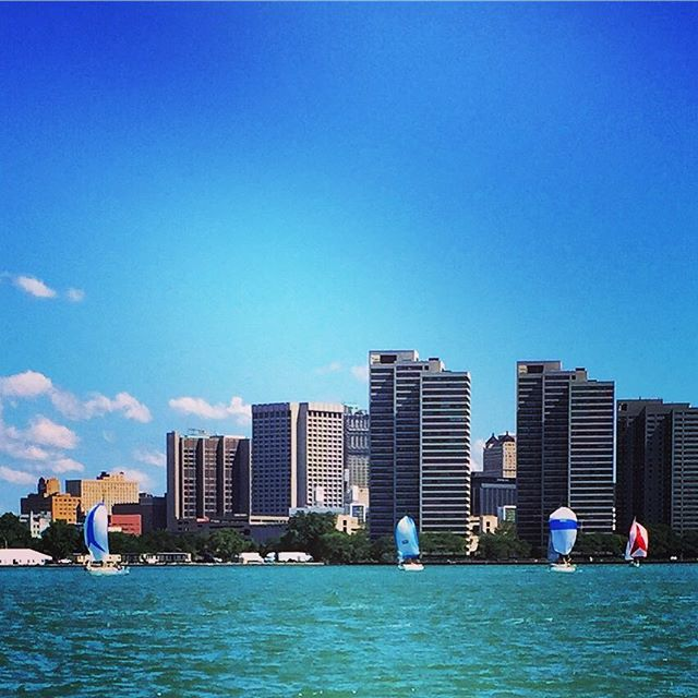 Detroit break down, Motorcity shake down #windsor #riverfront #sailing