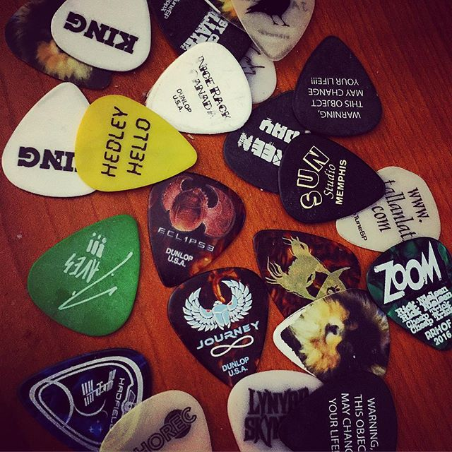 The collection grows #rocknroll #stagehand #heroes #sharktankpro