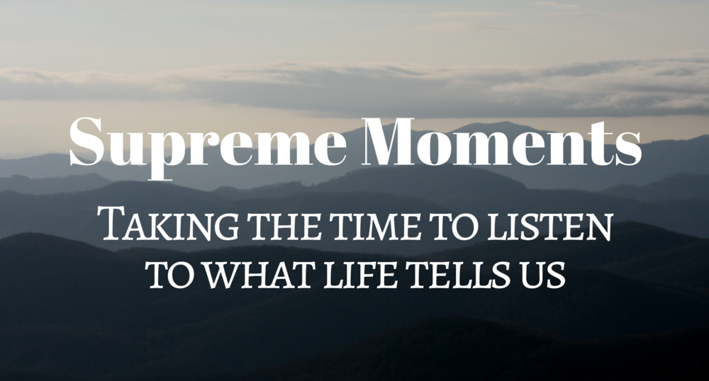 Inspiring thoughts on life's great moments