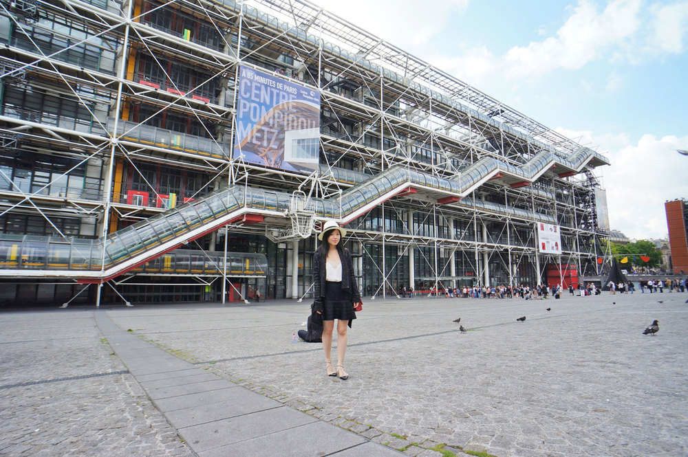 Centre Georges Pompidou   -  I was here a decade ago before this trip. It was even more amazing than I remembered!