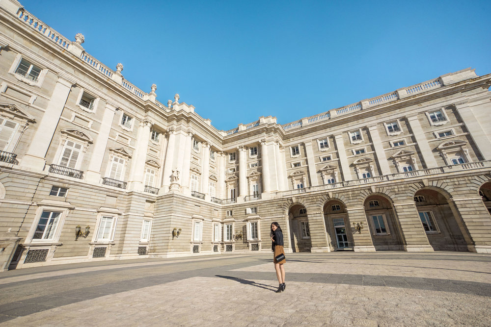 Get a glimpse of how the royals lived at the  Palacio Real de Madrid