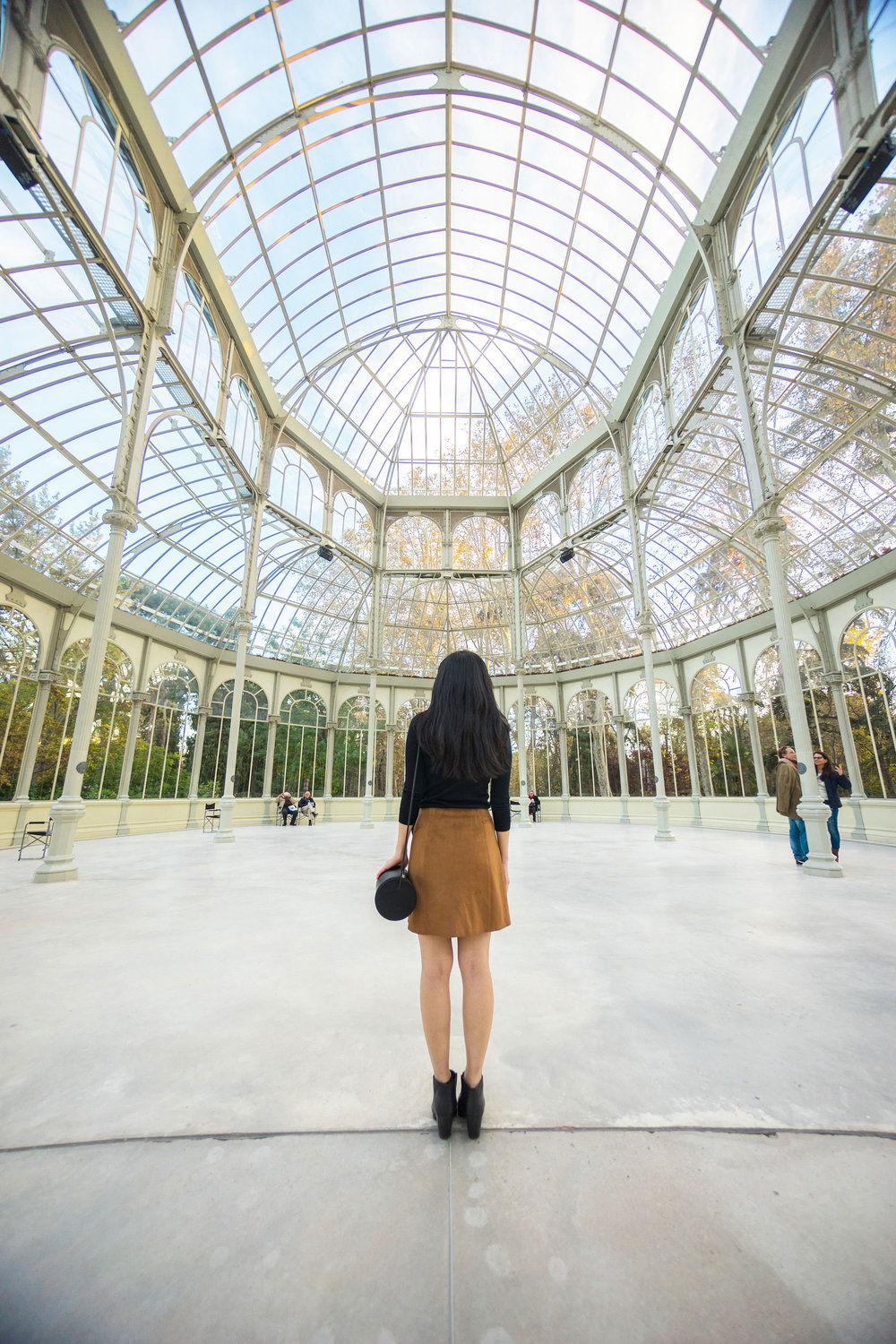The smallest place we visited but by far my favorite -  Palacio de Cristal  deep in the heart of  Retiro Park