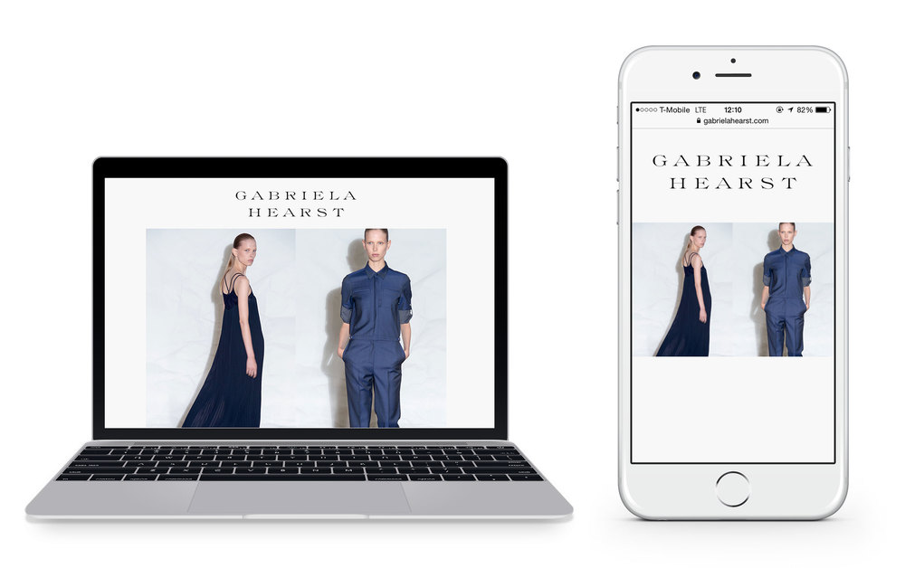 Gabriela Hearst Mobile Design