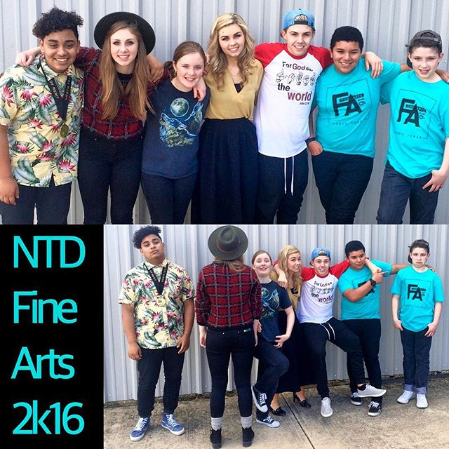 Amazing weekend at the North Texas District Assemblies Of God Fine Arts Festival 2k16 with these youth! God's anointing was evident in every performance, presentation, and exhibit, and even more so in the hearts of every one of these kingdom builders as they pressed in deeper to use their gifts for the glory of the Giver! #NTD #finearts #2k16 #rockcommunitychurch