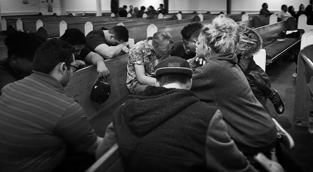 """Last midweek, Pastor Jeff challenged us to ask ourselves a question: """"Which quadrant of ministry has God most strongly placed on my heart for this season of growth?"""" We could sense the Holy Spirit's presence and vision as each group gathered around the room in prayer for that avenue of outreach and ministry! Join us tonight at 7pm as we dive deeper into the expansion of our Spiritual Life, Community Connection, Discipleship Ministries, and Outreach! #vision #spirituallife #community #ministries #outreach #midweek #rockcommunitychurch"""