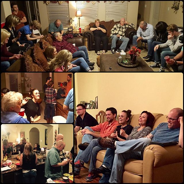 """I enjoyed RCC home group and had a blast! It felt like family, and it was good to talk about things in our everyday lives. I'm looking forward to the next one and hope that even more people can come!"" ~ Imy Wood (Host - Red Oak) ""I loved home group! Really felt like a safe environment where I could open up…God used the discussion time to speak to me personally!"" ~ Scott Bouck (Waxahachie)  Thanks to everyone who came together for a great kickoff to Rock Community Homes! Seeing God bring joy and peace in the lives of families and individuals is always a WIN - let's spread the word for the next one! #homegroup #family #joy #peace #rockcommunityhomes #waxahachie #redoak"