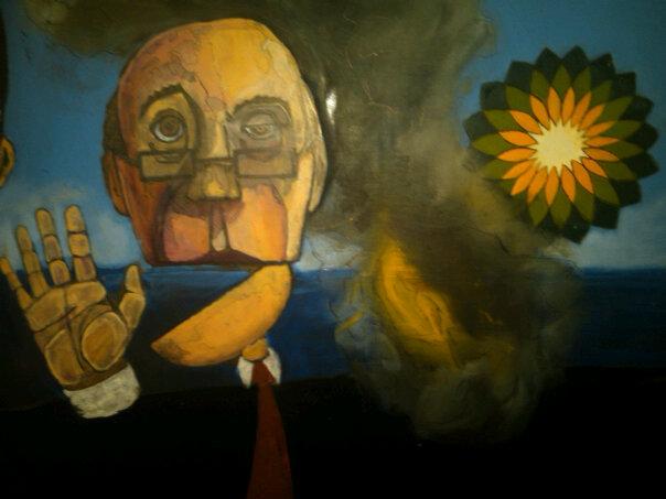 BP Oil Spill Painting
