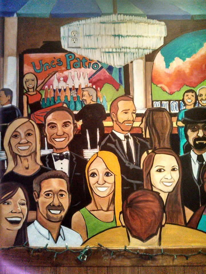 Bar Mural - Unc's Patio, Auburn, Ohio