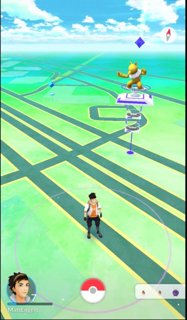 Pokémon GO Gym & PokéStop
