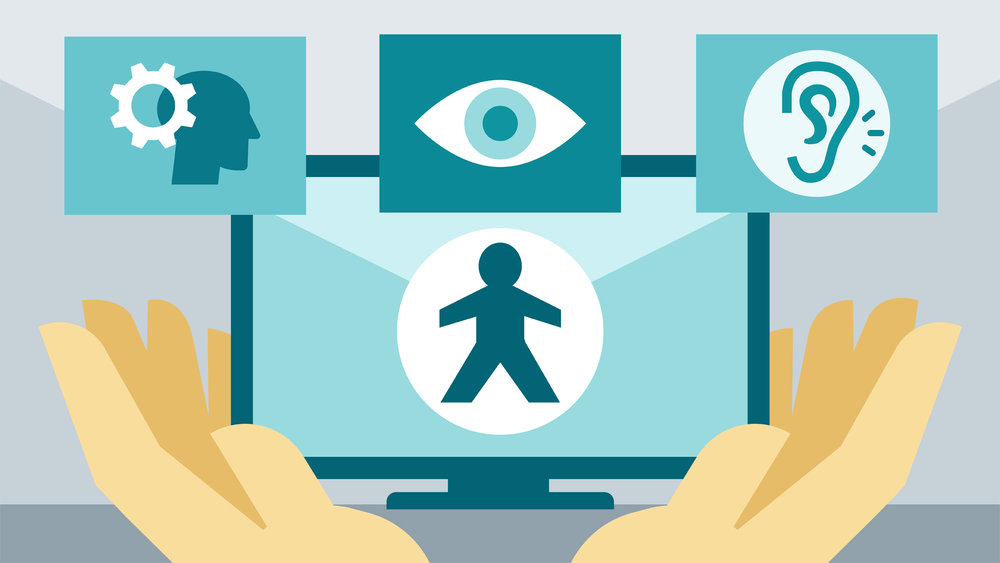 Image from LinkedIn Learning - Accessibility for Web Design