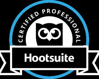 Hootsuite Certification Badge