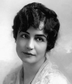 Lois Weber  , first female director to direct a feature film in 1914.
