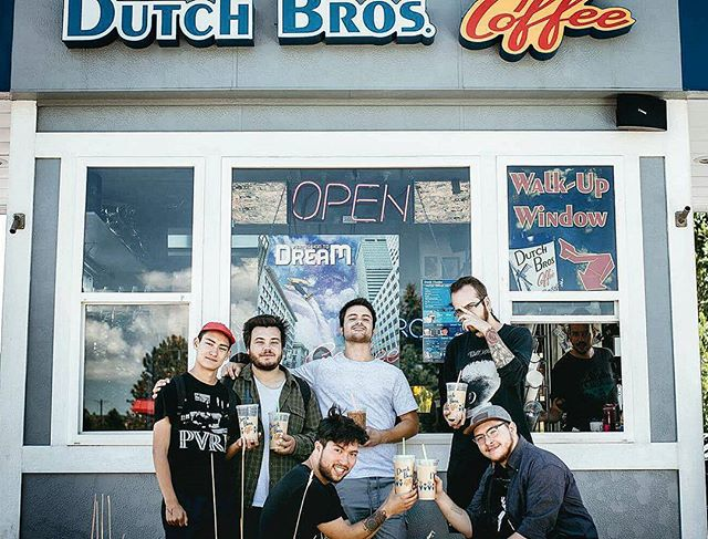 Throwing it back because I miss tour with these loons (and Ben). Also some Dutch Bros would be great right now.