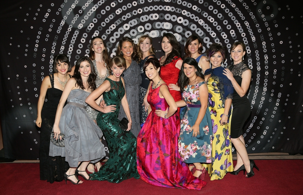 """The Pliant Girls"" at the 2014 Ovation Awards"