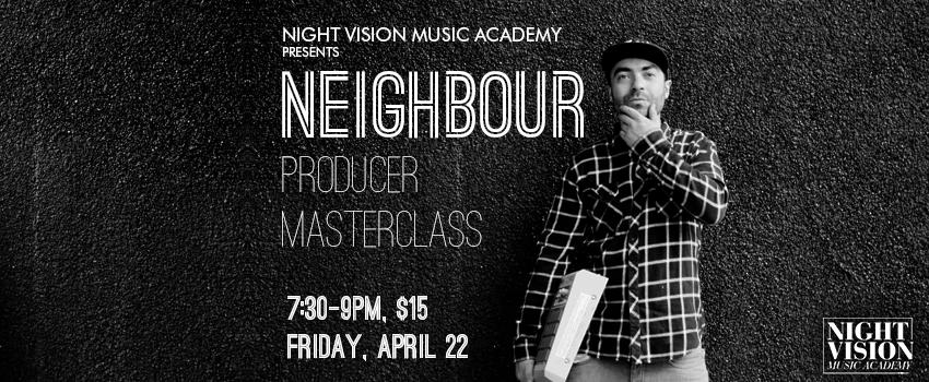 Neighour Masterclass Edmonton