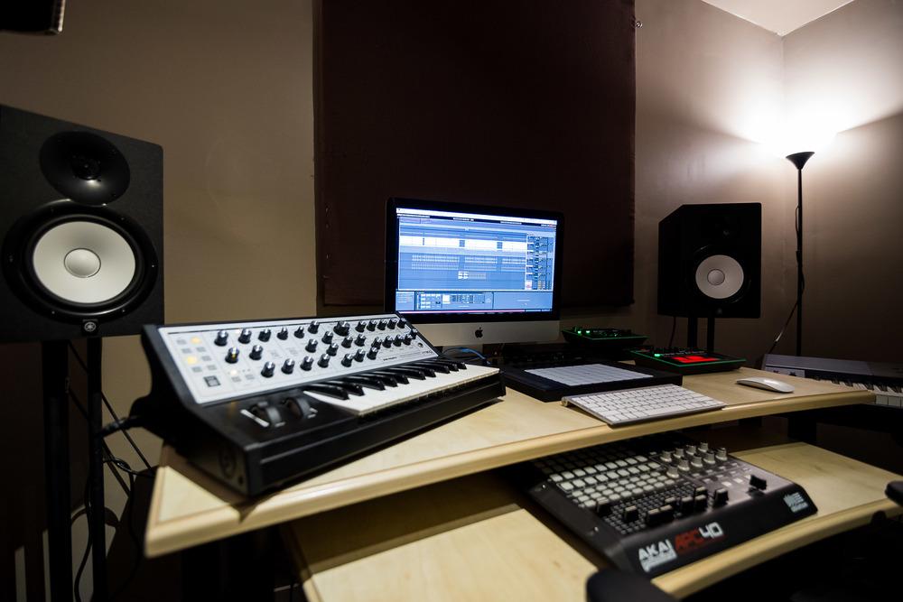 Private studio rental on Jasper Ave Edmonton