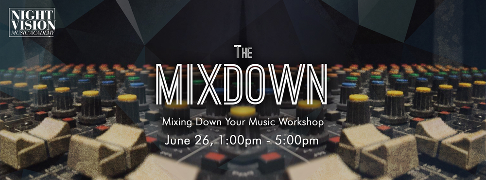 Mixing, EQ, Compression classes in Edmonton