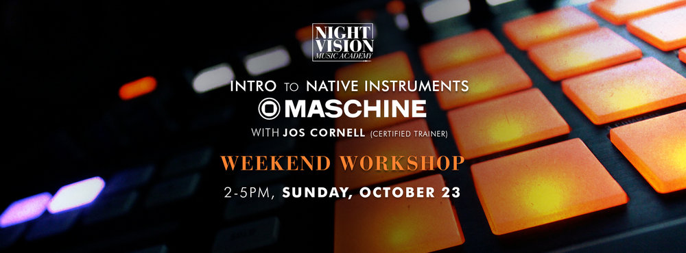 Maschine Workshop In Edmonton