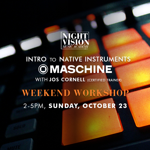 Learn how to use Maschine in Edmonton