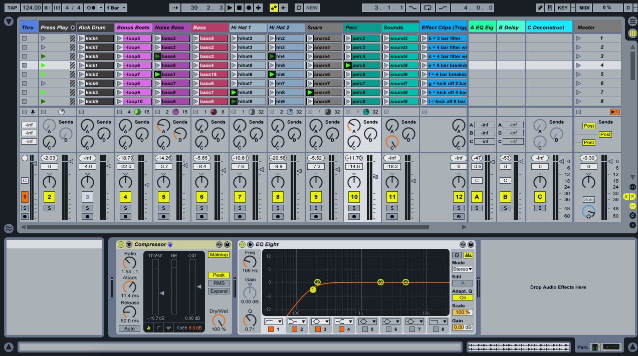 Music Production in Ableton in Edmonton
