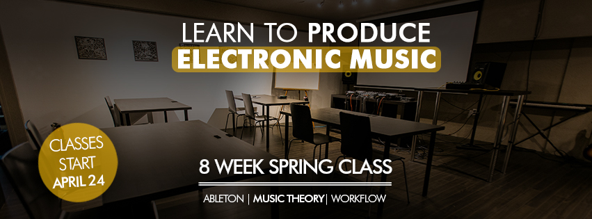8 Week Spring Music Production Course Is Now Open Night Vision