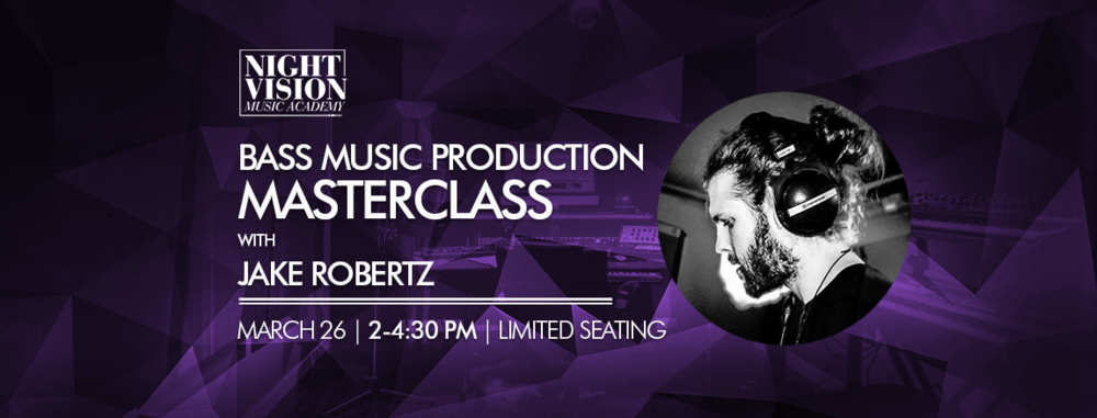 Jake Robertz music production masterclass