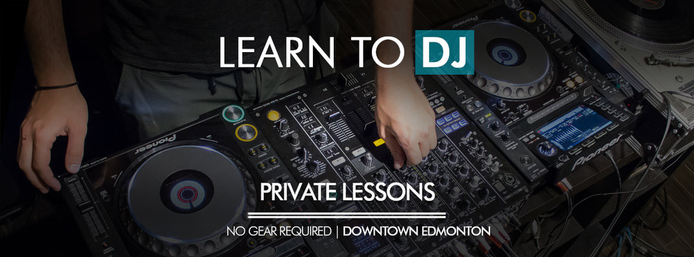 Learn how to DJ in Edmonton