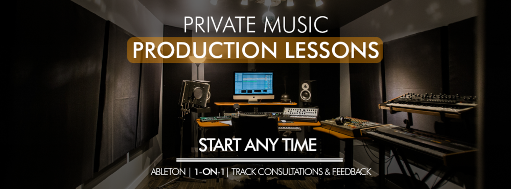 Private Music Production and Ableton Live Lessons